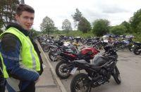 Motorradfahrer-Wochenende