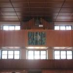 Kirche Bernloch Empore mit Orgel
