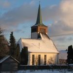 Kirche Bernloch in der Abendsonne