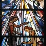 Kirche Bernloch Fenster Taufe Jesu