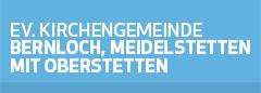 Kirchengemeinde Bernloch, Meidelstetten mit Oberstetten Logo