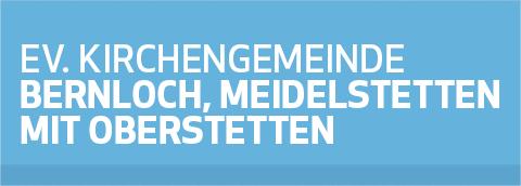 Kirchengemeinde Bernloch, Meidelstetten mit Oberstetten Retina Logo